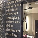 Tile in shower