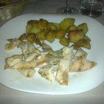 Tagliata di pollo con patate al forno