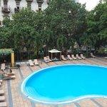piscine de l'hotel Mercure Sevilla