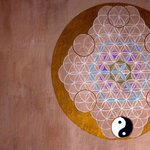 Sacred geometry in the palapas