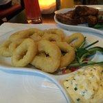 Soggy soggy calamares fritos