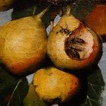 J. Decker: Ripening Pears, Detail