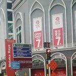 Jalan Depan Hotel Fenix Inn Melaka