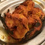 the expensive prawns tandoori