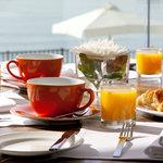 Breakfast at Caprice