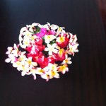 bouquet de fleurs fraiches sur chaque table