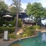 restaurant bij zwembad