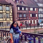 The historical covered market in Colmar is open every day except on Sundays
