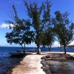 terrasse lagon