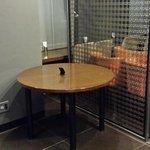 Lobby chairs locked