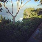 вид с ocean view clif villa