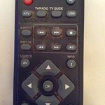 When was the last time you saw a remote control this dirty?