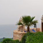 Looking out into the Dead Sea