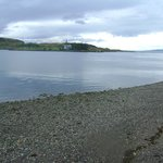 View of Kerrera from outside hotel (Mull in far distance)