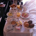 Un petit déjeuner en chambre