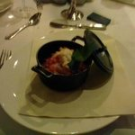 cura e ricercatezza nella presentazione dei piatti