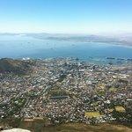 Vom Tafelberg auf Kapstadt