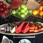 Fruits at the breakfast