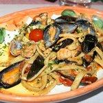 Scialatielli (pasta fresca) con frutti di mare