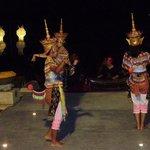 Thai dancers at hotel