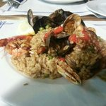 Seafood Paella (highly recommended)