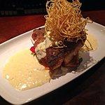 Pan-fried Sea Bass, Beurre Blanc sauce