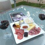 complimentary platter & wine @ Whistler