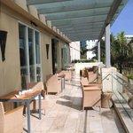 Club Deck (overlooks pools)