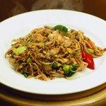 Thin Rice Noodles/Thai Sauce/Chicken