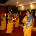 Chinese too can dance indian ... @Tadka..Rasoi
