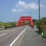 万関瀬戸に架かる万関橋