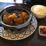 Singapore style pork stew