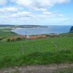 Cinder Track looking towards Robin Hood' Bay