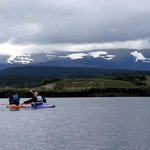 Kayaking from Kingussie back to Loch Insh