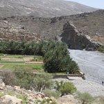 Begin van de wadi Nakl George.