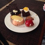 A selection of the many tasty desserts