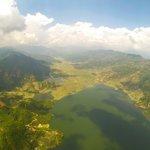 View over Fewa Tal & Pokhara