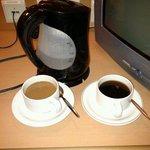 complimentary tè e caffè in camera