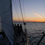 Sunset sail on Shearwater Schooner