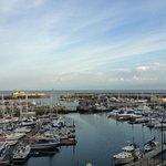 De haven van Ramsgate vanuit RTYC