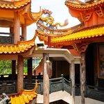 deep in temple