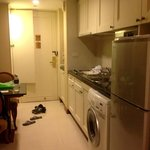 The Kitchenette and Washer Source: