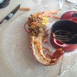 riccio,cappasanta,uova di quaglia