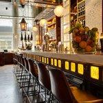 Bar area at Ibérica Farringdon