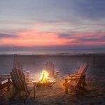 An evening at the beach