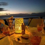 Dinner at CinCin by the Sea, Barbados