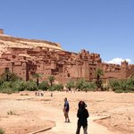 Visit to the Kasbah Ait Benhaddou along tour