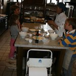 Kids cooking class at Zuccardi with Malbec Symphony