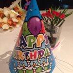 Happy Birthdayの三角帽