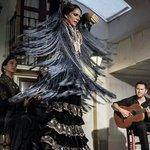 Manuela Rios, one of Seville's leading flamenco dancers